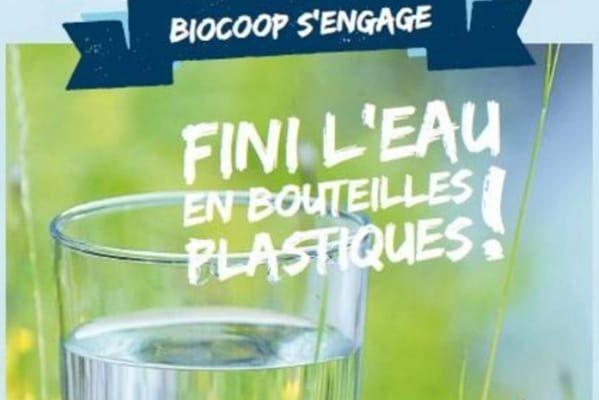 Biocoop met fin aux bouteilles plastiques