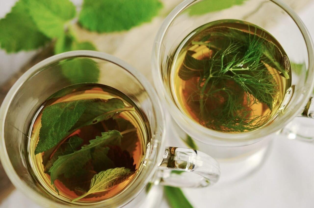 Influence de l'eau sur le thé