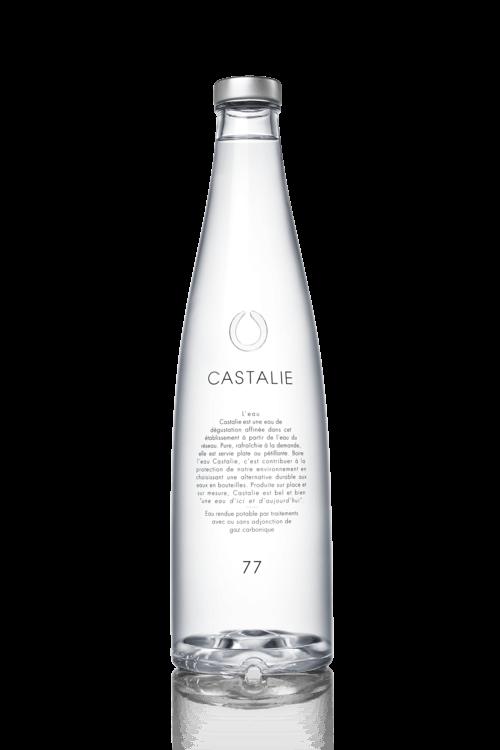 Bouteille 77cl en verre de CASTALIE