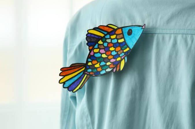 poisson d avril dans le dos