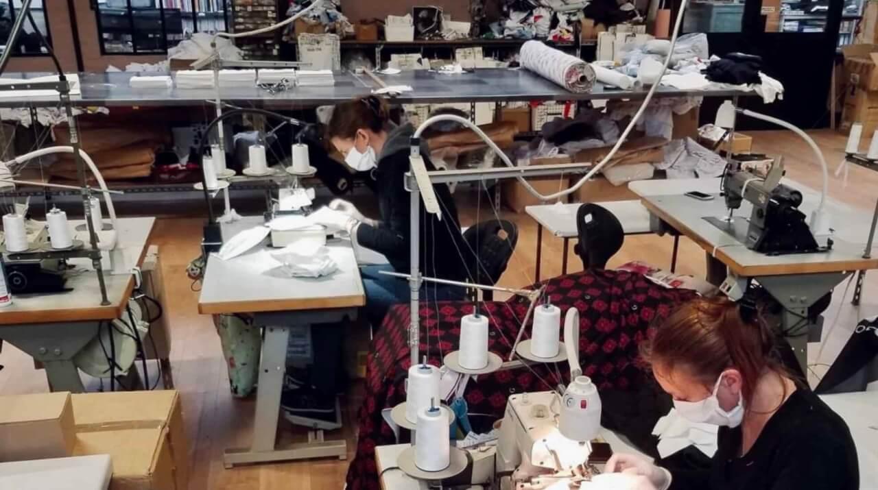 Fabrication masque coronavirus