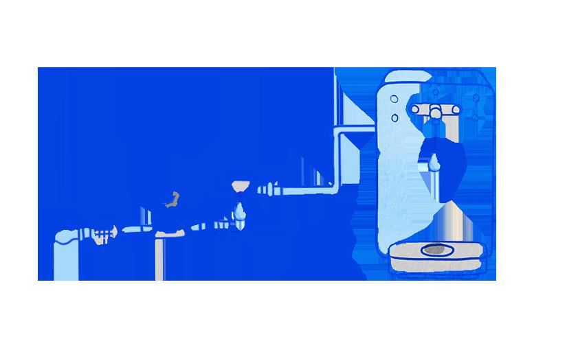 filtration fontaine a eau castalie