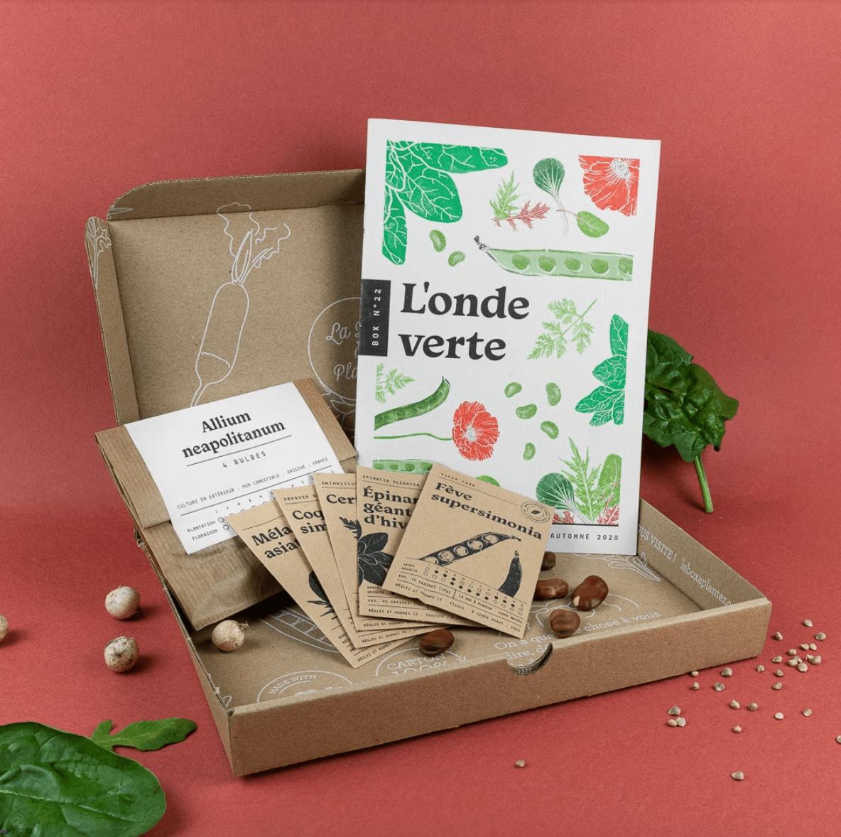 idee cadeau box a planter ecologie