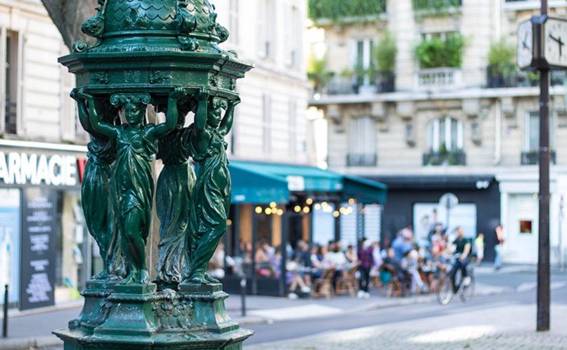 carte fontaine a eau publique hiver paris